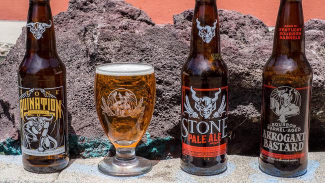 Stone Ruination, Pale Ale ve Bourbon Barrel Aged Arrogant Bastard