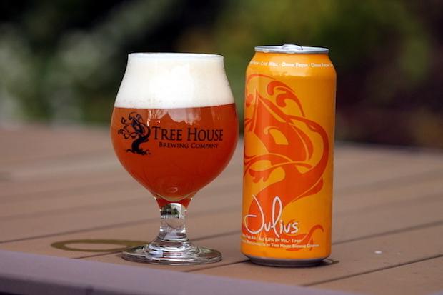 BeerAdvocate'a göre En iyi Amerikan tarzı IPA:Tree House Brewing Company'den Julius
