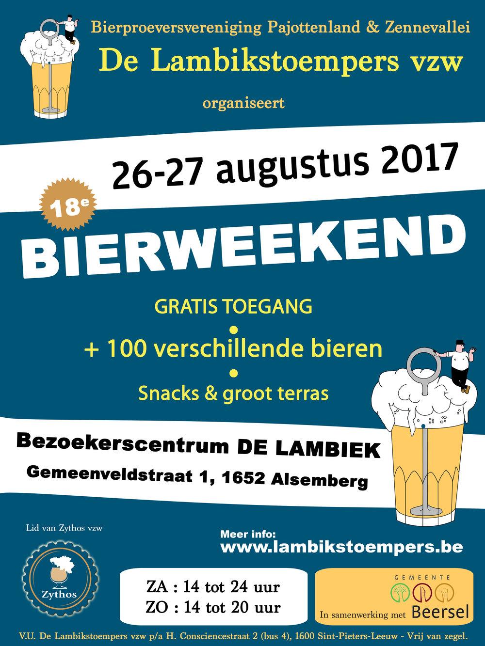 Bierweekend 2017