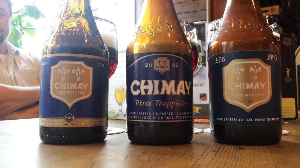 Aynı birayı 10 senelik aralıklarla tatmak: 1995, 2005 ve 2015 Chimay Bleue (c)Bernt Rostad