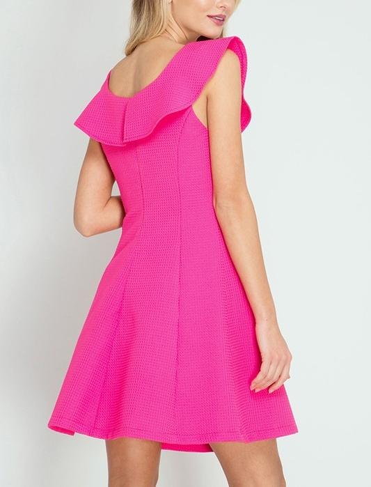 Hot Pink Cocktail Dress — BTHB