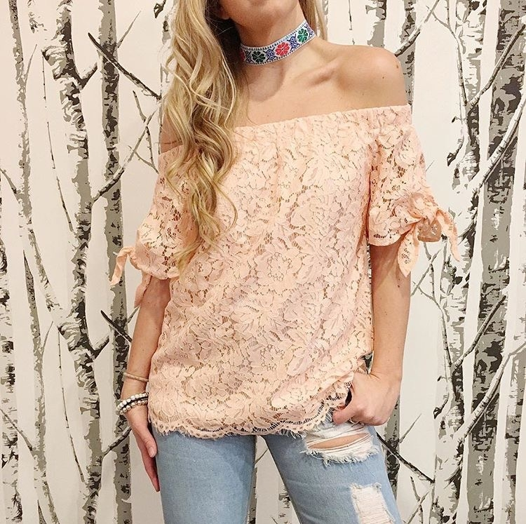 Top Seller for Off-The-Shoulder looks!