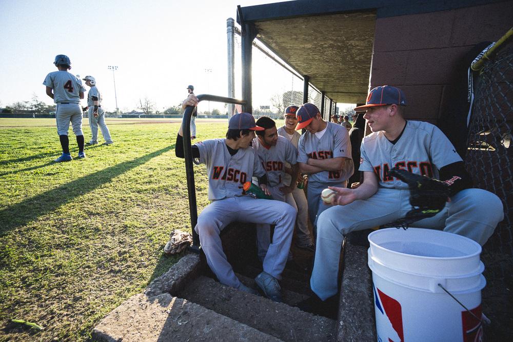 JV Baseball vs Delano