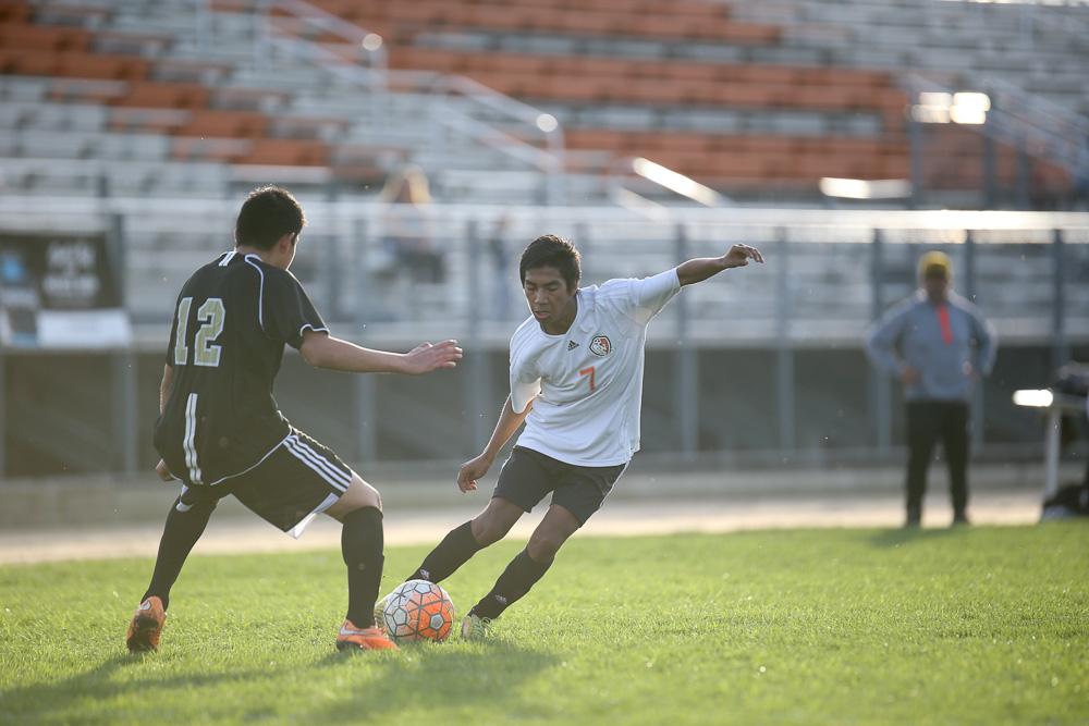 JV Boys Soccer vs Arvin