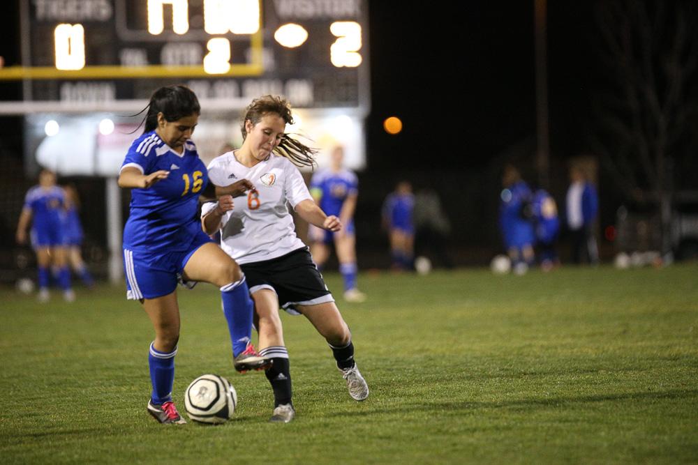 JV Girls Soccer vs Taft