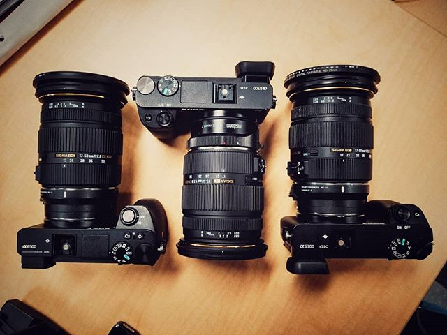Are you planning on keeping your APS-C cameras when you upgrade to the Sony a7III? Sony a6300/6500 with the Sigma 17-50 F2.8. Hope @sigmaphoto will make one for native e mount someday. - - - - - - - - #sony #sonya6300 #sonya6500 #sonyalpha #sonyalphauniverse #sonyalphaclub #cameralens #gearporn #sigmalens #sigmalenses #sigma1750 #metabones #mirrorless #apsc #cropsenso #cameragear #sonygear