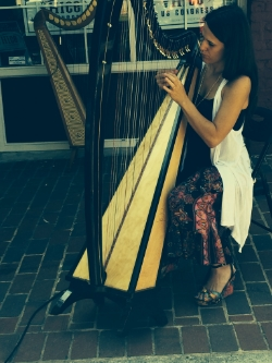 Tracy Stuever,  Studio Owner - harp, piano, guitar, voice, drums
