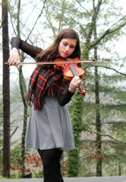 Nicole Valerioti, violin, piano, guitar, ukulele