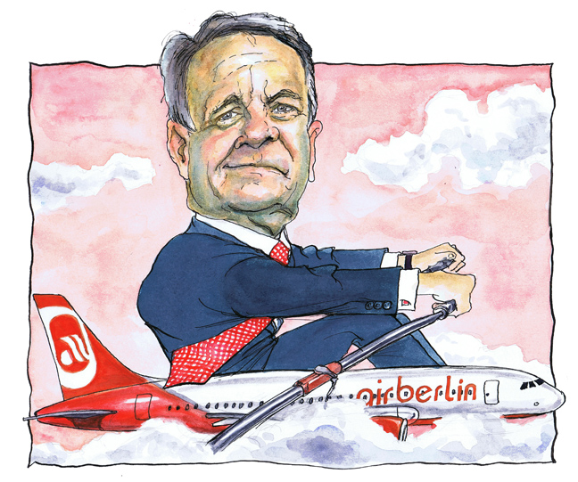 German Airline Boss