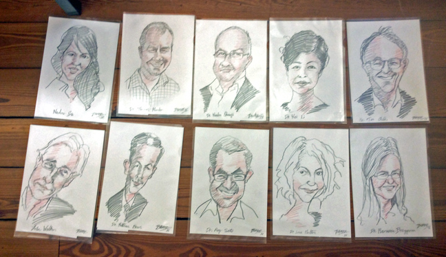 73 Lecturers drawn in 3 days at Gap Summit