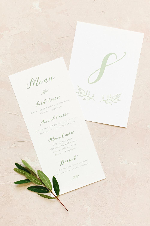 Wedding Menu_Wedding Table Number_Dreams and Nostalgia.jpg