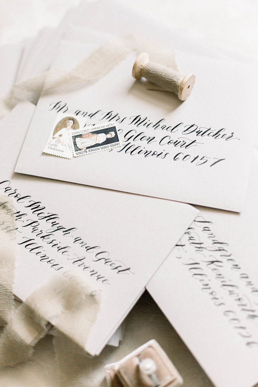 Wedding Calligrapher_Dreams and Nostalgia_Envelope Calligraphy.jpg