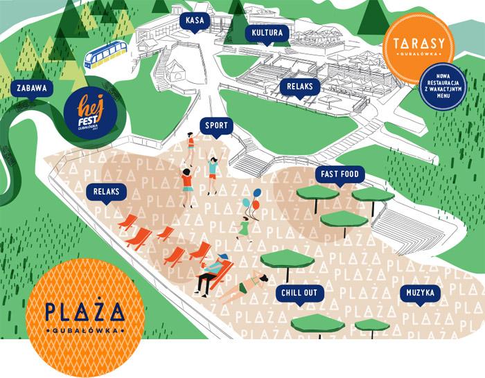 Plaza - Tarasy - Gubałówka