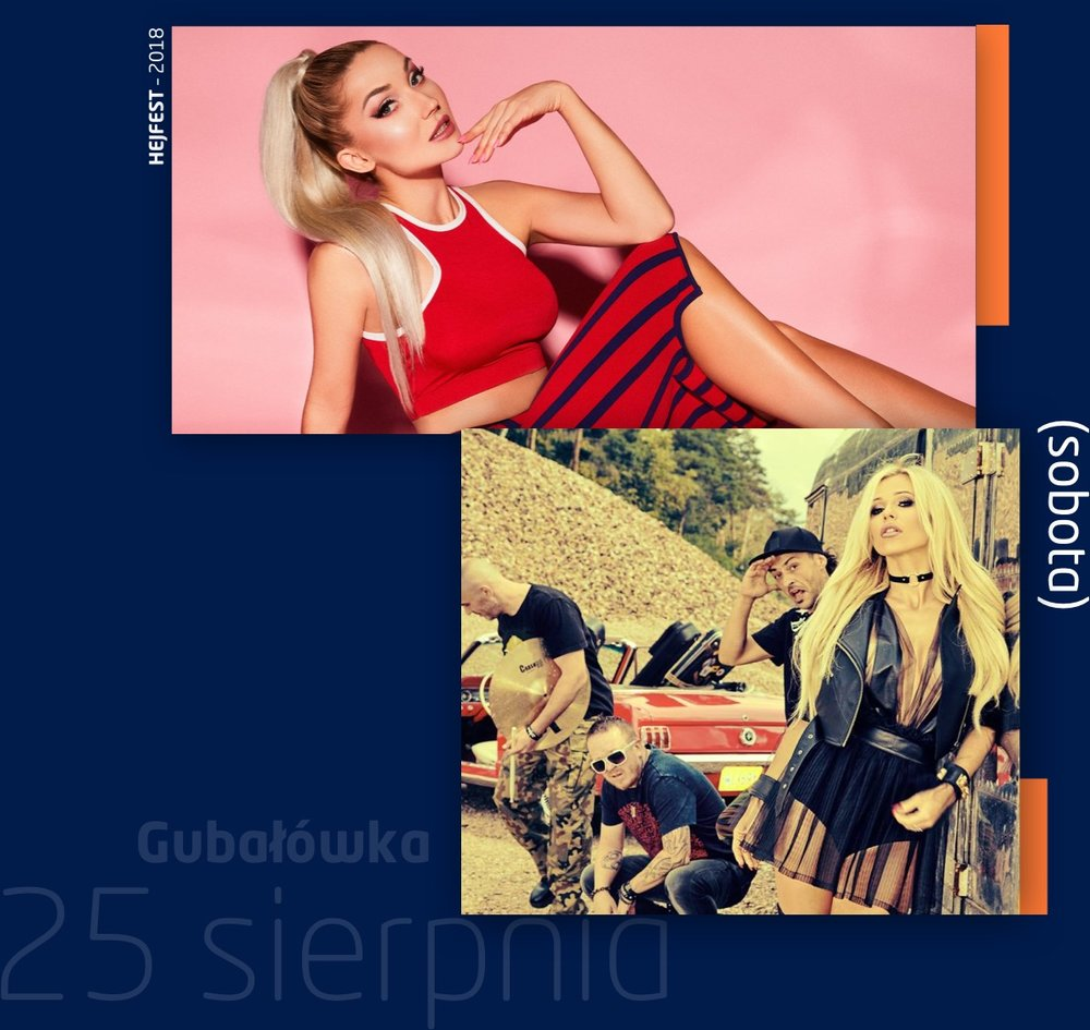 CLEODoda & Virgin - Gubałówka, Zakopane- 16:00 – Otwarcie festiwalu:- 17:00 – CLEO- Create vs. Stonkatank –Finał Festiwalu Supportów- 20:00 – Doda & Virgin