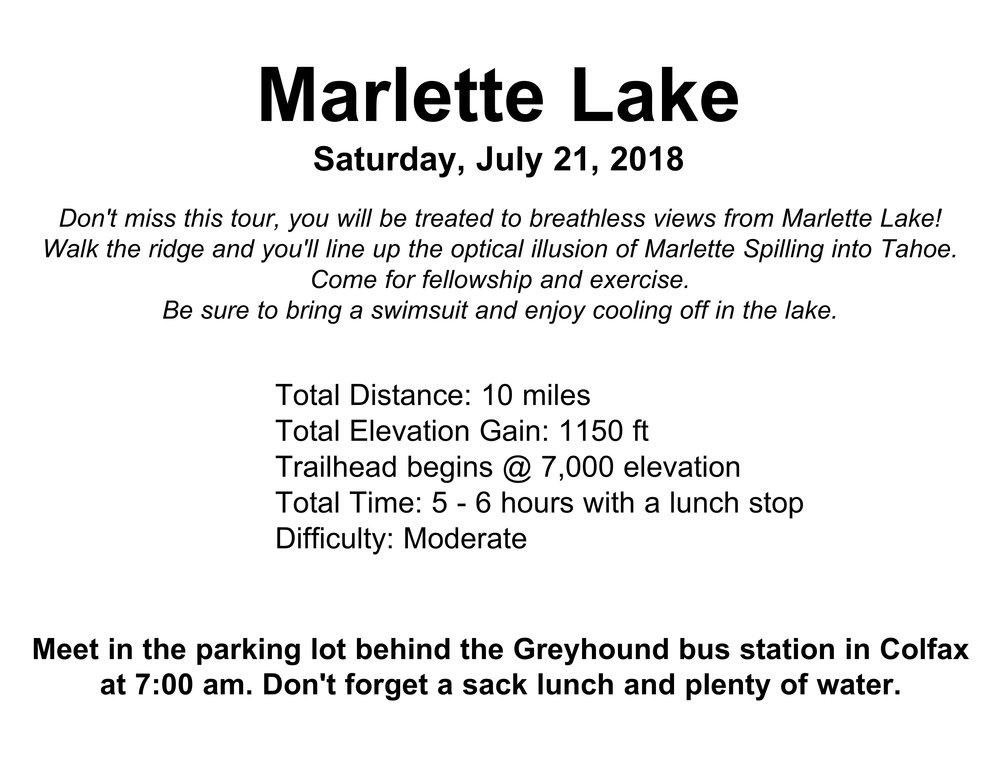 Marietta Lake