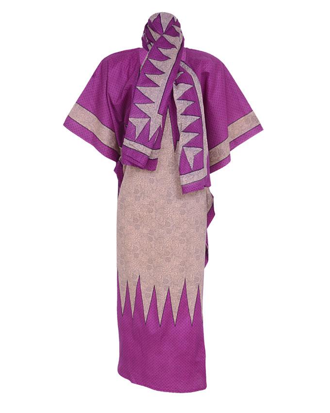 CHESHAM DRESS PURPLE. SIZE 18-22   N7,500
