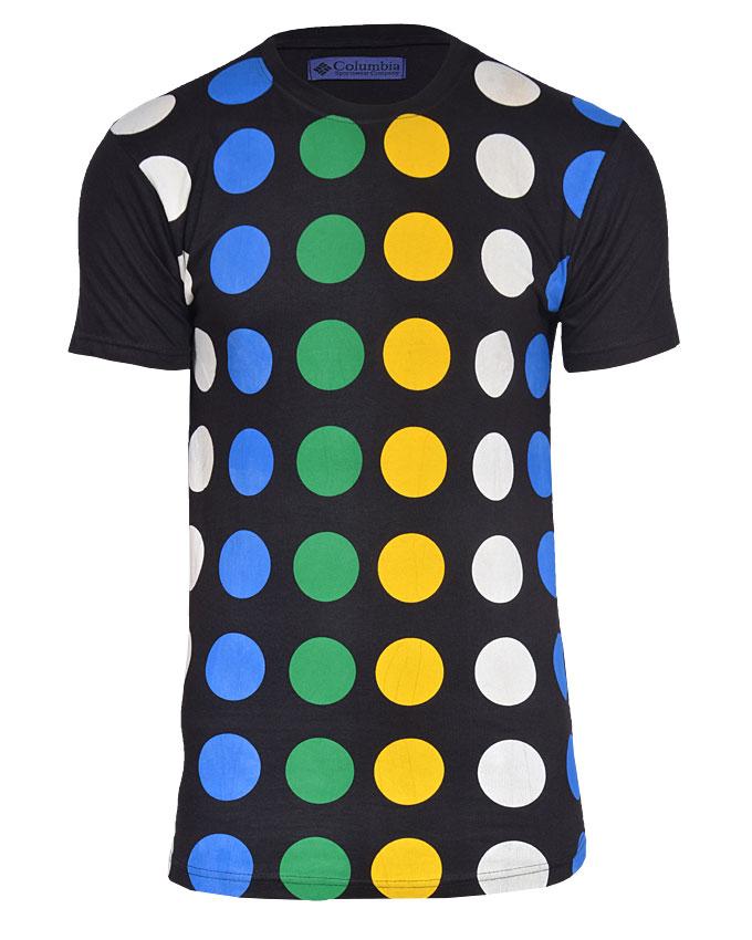 columbia tshirt - s   n3,000