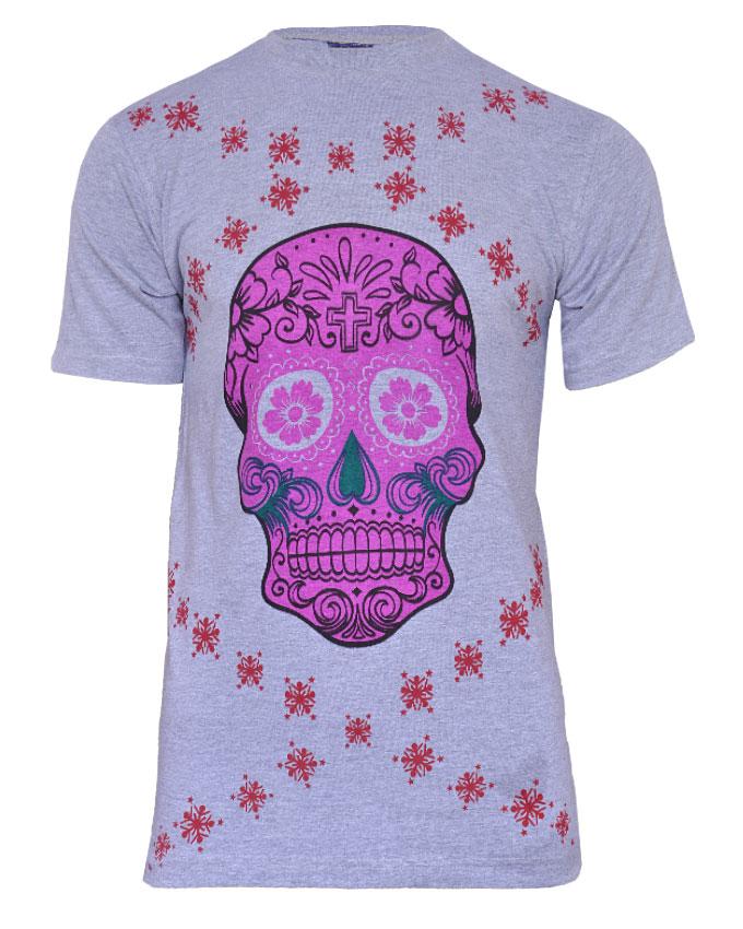 pink love & the skulliosis rep.tshirt - m  n3,000