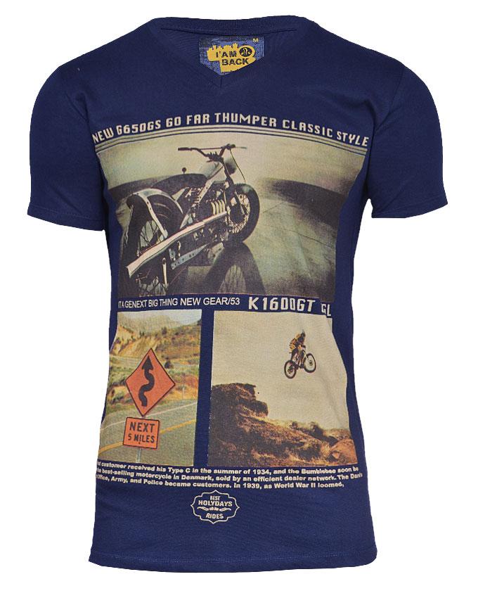 isle of dogs motorcycle tshirt - s   n3,000