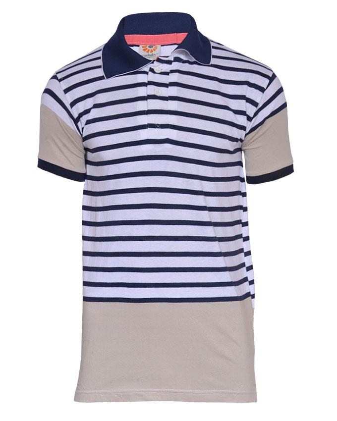 clerkenwell 2 tone polo tshirt - m   n4,000