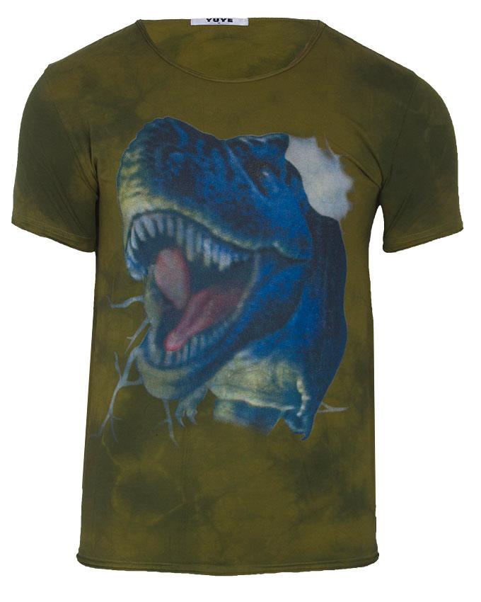 grove distressed 3d print tshirt - s   n3,000