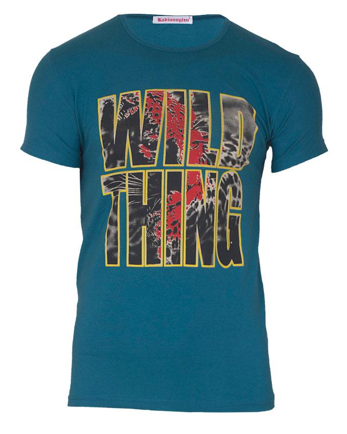 wild thing tshirt - m   n3,000