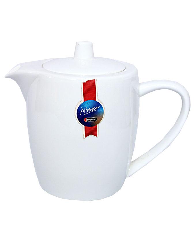 white porcelain tea pot   n3,500