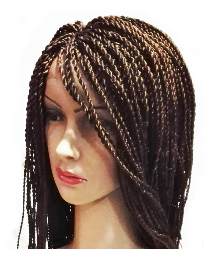"monique twist lace front synthetic wig - 28"" #4   n21,500"