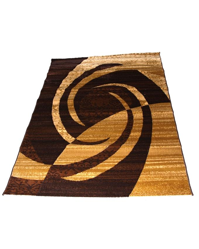 swirl design shaggy rug - brown   120 x 170 cm    -    25,000  150 x 230cm   -    35,000