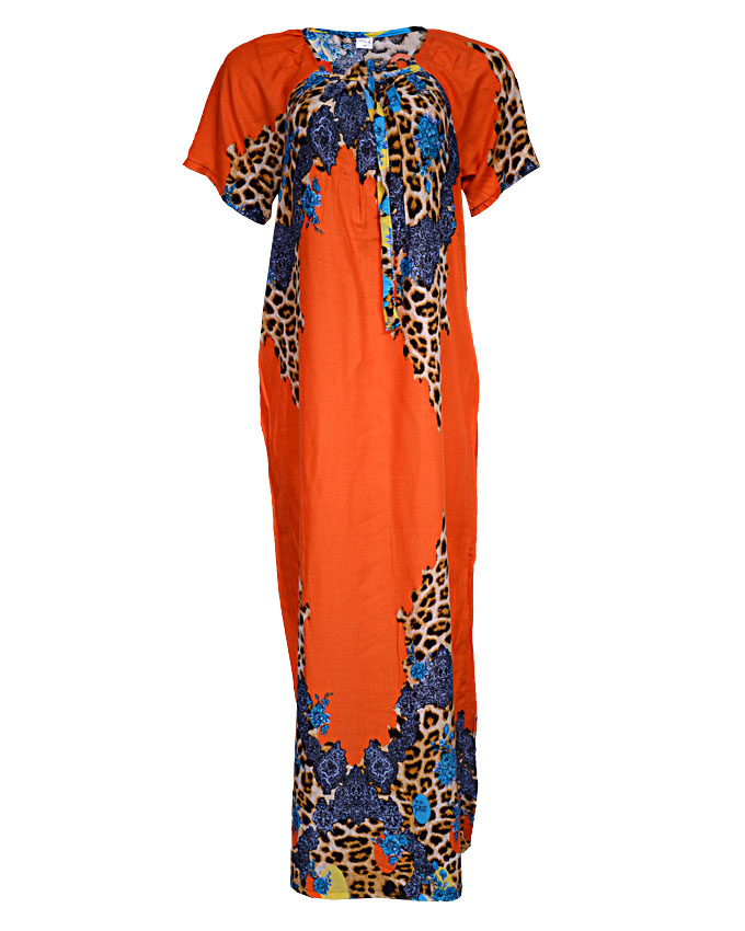 acton maxi dress - orange sizes 16 - 22   n3,500