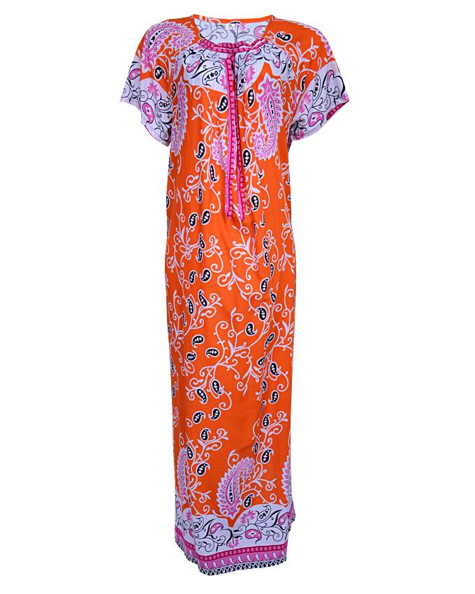 adelphi maxi dress - orange sizes 14 - 20   n3,500
