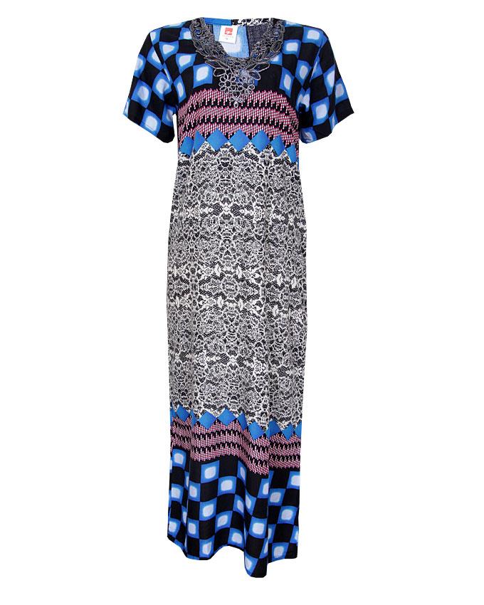 boxter maxi dress - blue sizes 16, 20   n3,900