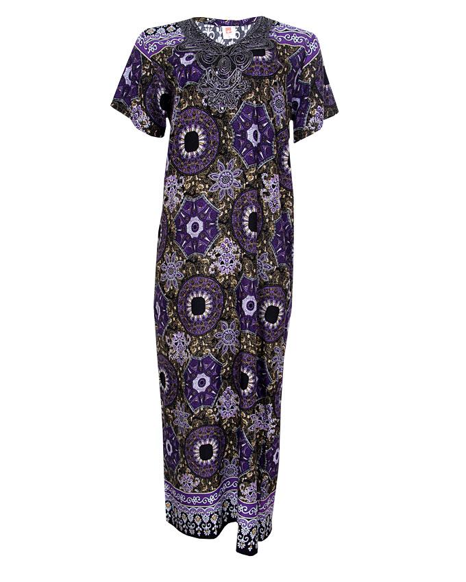 cresida maxi dress - purple sizes 16-18   n3,900