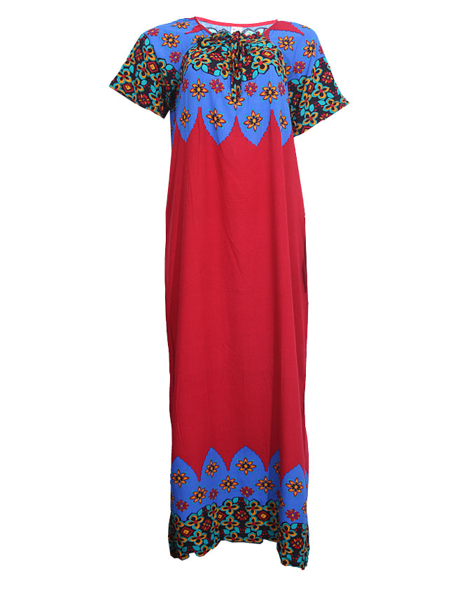 edgware maxi dress - blue/red sizes 14, 18   n4,000