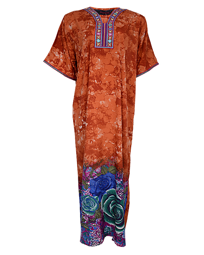 fulham maxi dress - brown  sizes 18 - 22   n3,900
