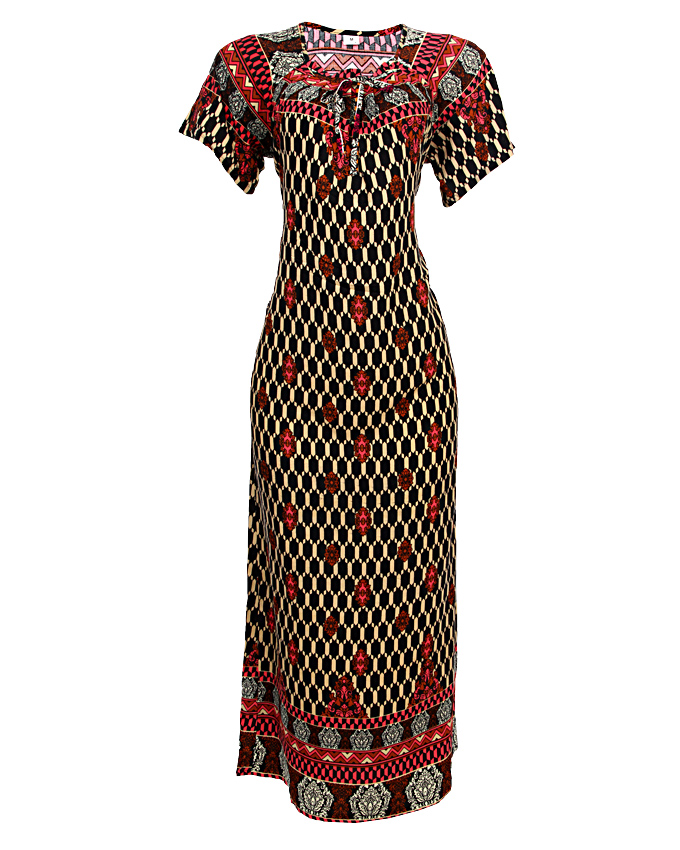 holborn maxi dress - red  sizes 20   n3,500