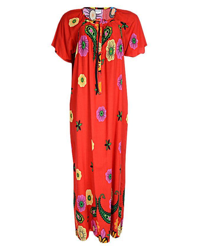 mara maxi dress - orange sizes 16   n3,500
