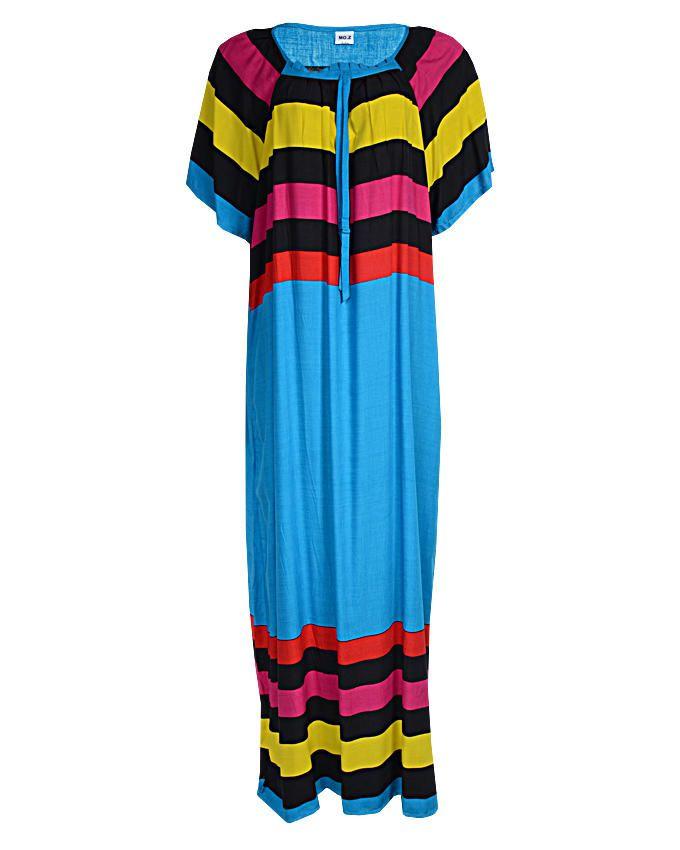 sasha maxi dress - blue sizes 16   n3,500