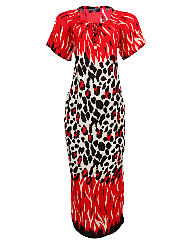 STRATFORD MAXI DRESS - redSIZES 16, 20   N3,500
