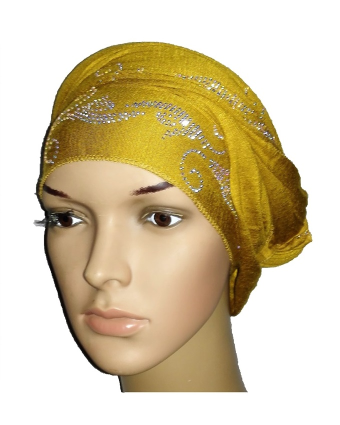 new    regal turban with bajan wave design- mustard   n5,800
