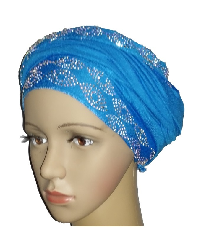 new    regal turban with ring design- turquoise   n5,800   (sold out)