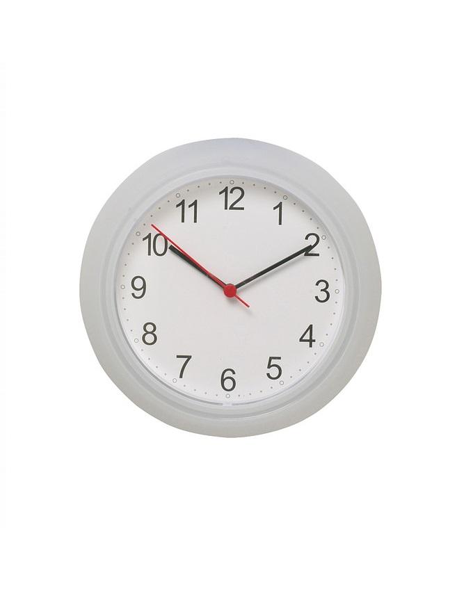 new    ikea rusch plastic wall clock - 25cm   n3,900
