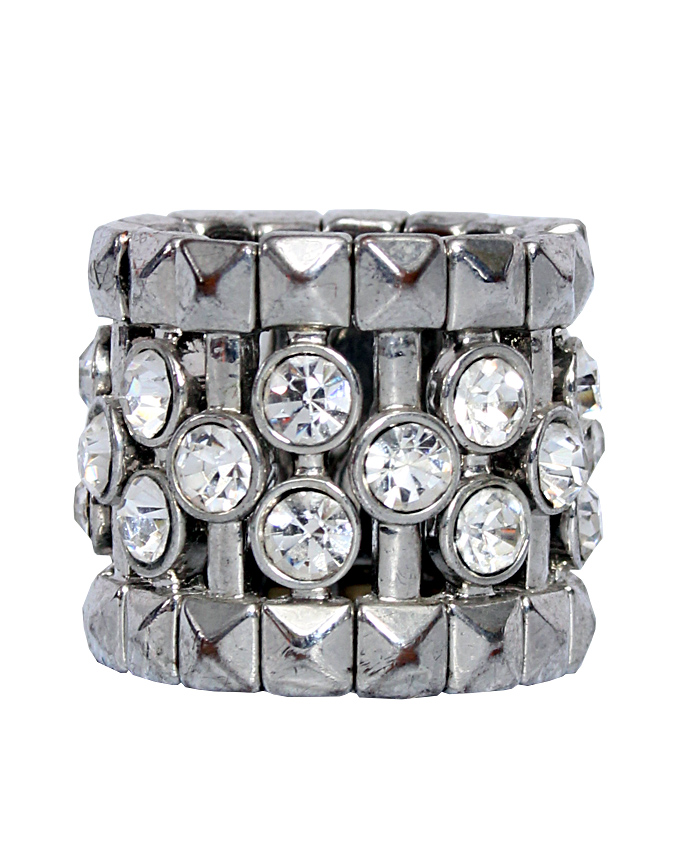 SAVOY ELASTIC RING WITH STONE DETAIL - 7   N4,500  ( SOLD OUT)