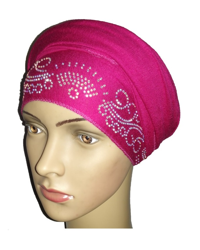 new    regal turban lake wave - hot pink   n5,800