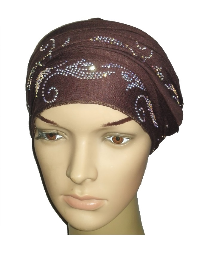 new    regal turban bajan wave design - coffee brown   n5,800