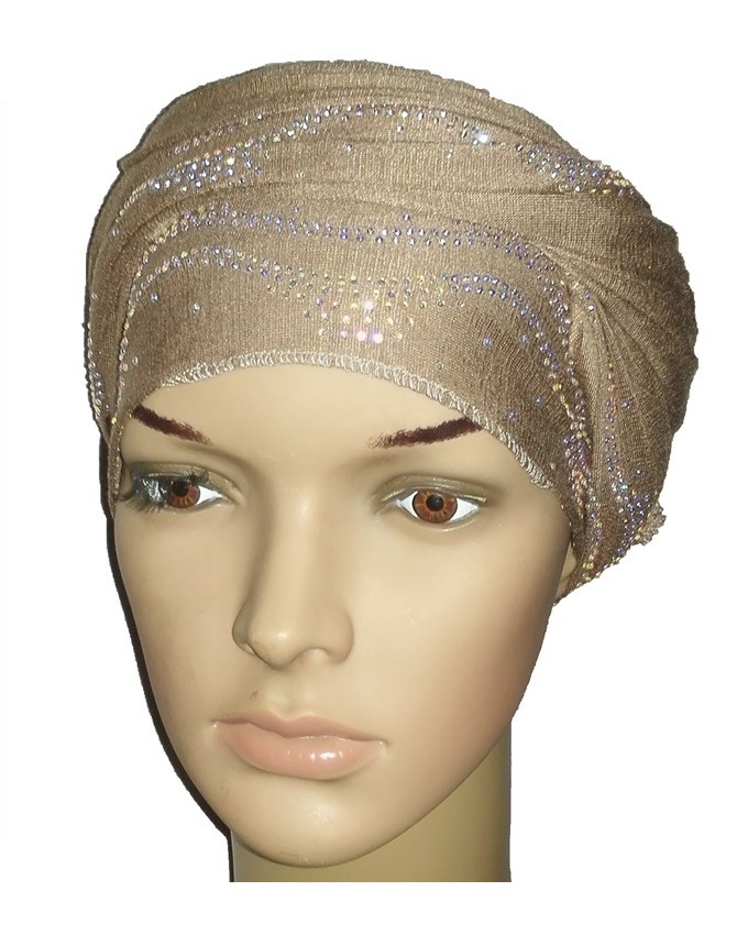 new    regal turban ocean wave - desert brown   n5,800