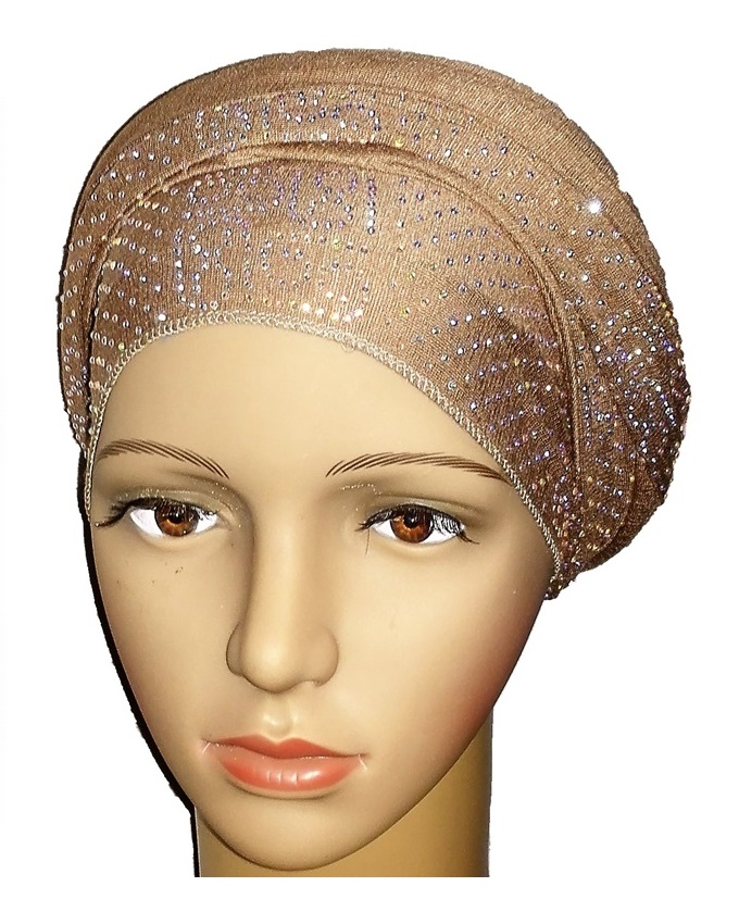 new    regal turban vendla print - desert brown   n5,800