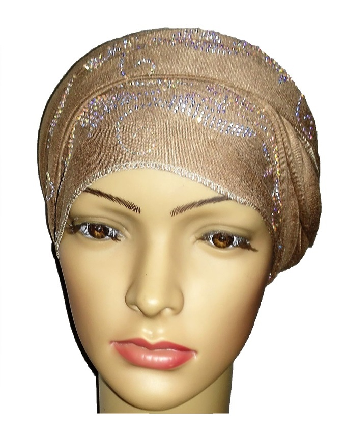 new    regal turban bajan wave design - desert brown   n5,800