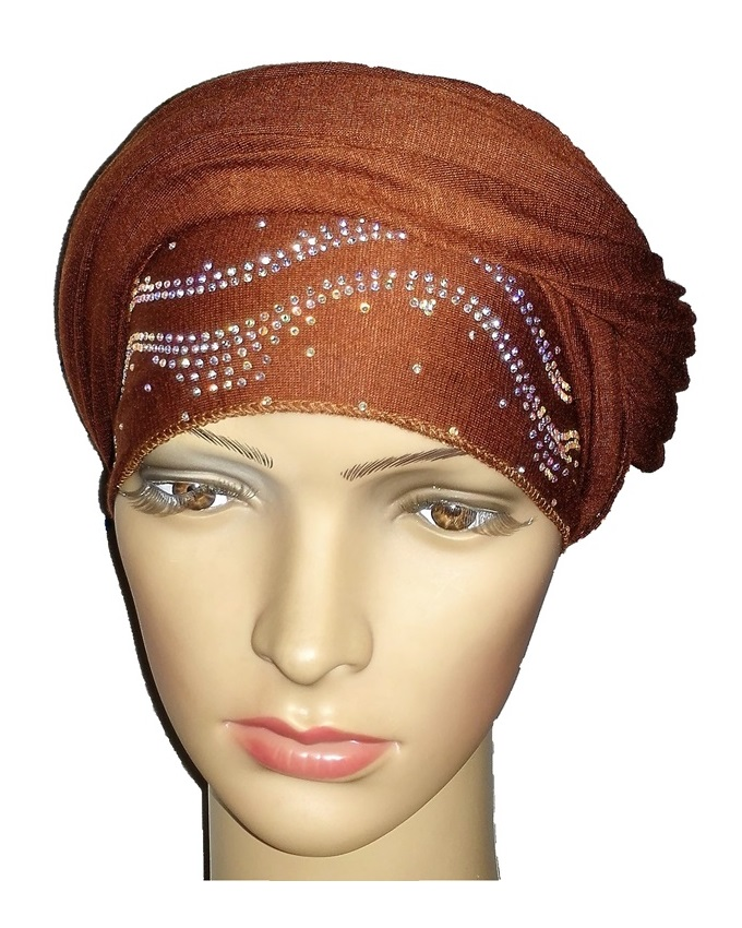 new    regal turban ocean wave - cocoa brown   n5,800  ( sold out)
