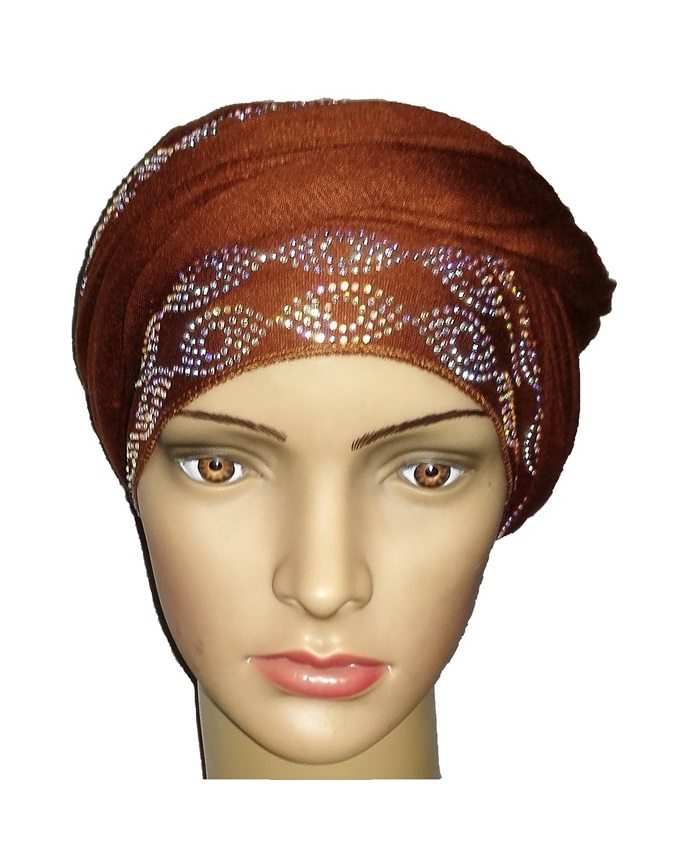 new    regal turban ring design - cocoa brown   n5,800